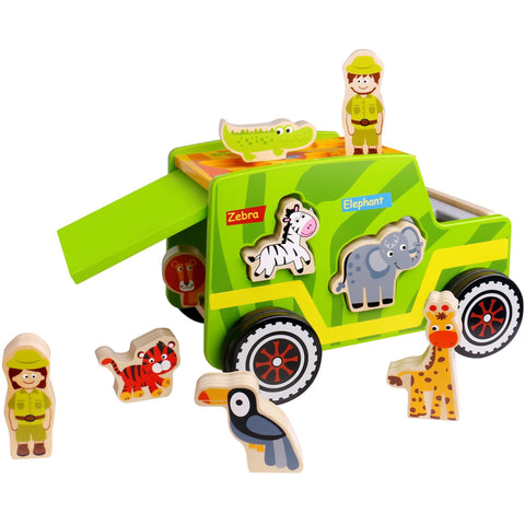 Safari Jeep Tooky Toy
