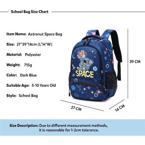 Space Kids School Backpack Trio Kids Singapore