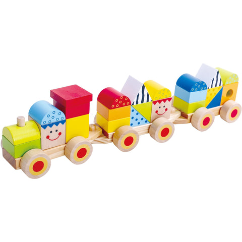 Stacking Train Tooky Toy
