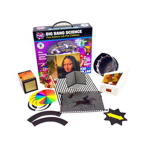 Magic Tricks Optical Illusion Science Kit