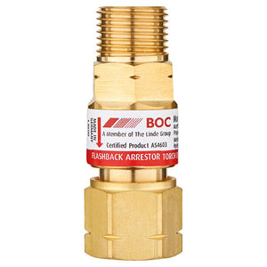 BOC Standard Flow Torch End Fuel Gas Flashback Arrestor