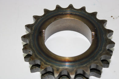 19 tooth duplex sprocket taper lock