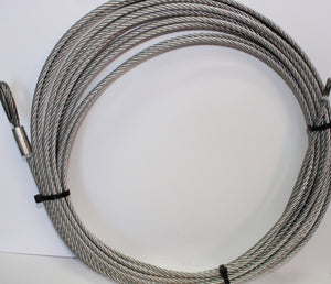 Gal Winch Rope 18MTR x 8mm 7/19