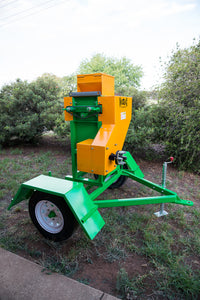 "Roller Mill supplied with Stand and Hopper on Trailer - 20"" 540 PTO 9 tonne per hour"