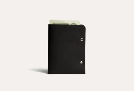 Unstitched Leather Twofold Wallet - Apex Urban Gear