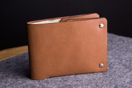 Unstitched Leather Billfold - Apex Urban Gear