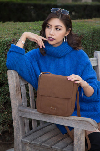 Doshi Portrait Suede Bag - Vegan - Apex Urban Gear