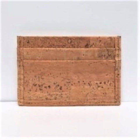 Natural Cork Card Case - Apex Urban Gear