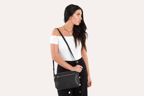 Classic Crossbody - Black - Apex Urban Gear