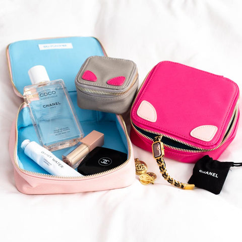Sojourne Accessories Pouch Set - Pink - Apex Urban Gear