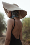 Lola Jute Wide Brim Hat - Apex Urban Gear
