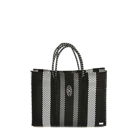 Lola's Grey & Black Tote With Clutch - Apex Urban Gear