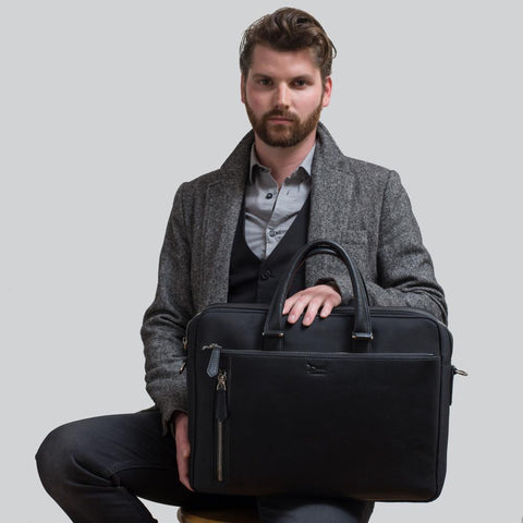 Doshi Modern Professional Briefcase - Apex Urban Gear