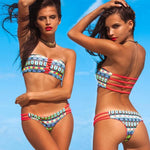 Summer Ladies Swim Wear Vintage Sexy Bikini Strips - Apex Urban Gear