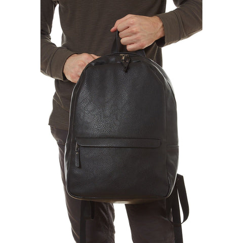 Tucker Vegan Leather Backpack - Apex Urban Gear