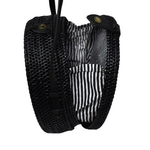 Camilla Black Circle Bag - Apex Urban Gear