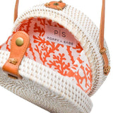 Camilla - White Circle Bag - Apex Urban Gear