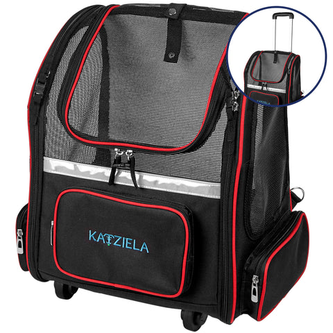 Hybrid Adventurer Wheeled Pet Carrier - Apex Urban Gear