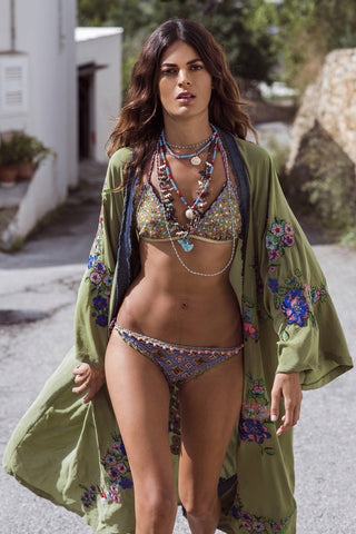 Handmade Embroidered Beach Cover-Up