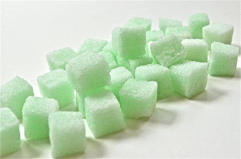 Mint Flavored Sugar Cubes