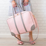 Sojourne Soft Sided Case - Pink/Grey - Apex Urban Gear