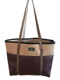 Brown Jute Tote - Apex Urban Gear