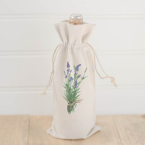 Lavender Wine Bag