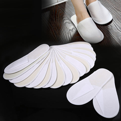 Disposable Slippers - 10 Pair