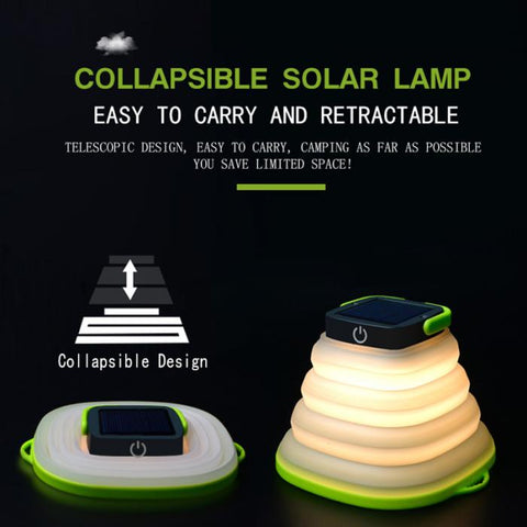 Collapsible Solar LED Light