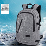 Apex Anti-theft Waterproof Travel Backpack With USB Recharging Function - Apex Urban Gear