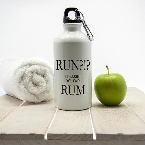 Run?!? I Thought You Said Rum