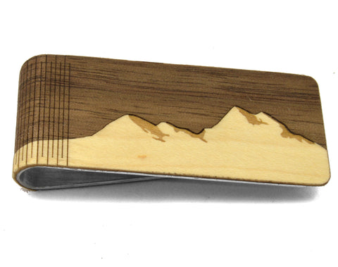 Wooden Money Clips - Apex Urban Gear
