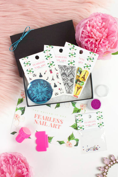 Fearless Nail Art Box