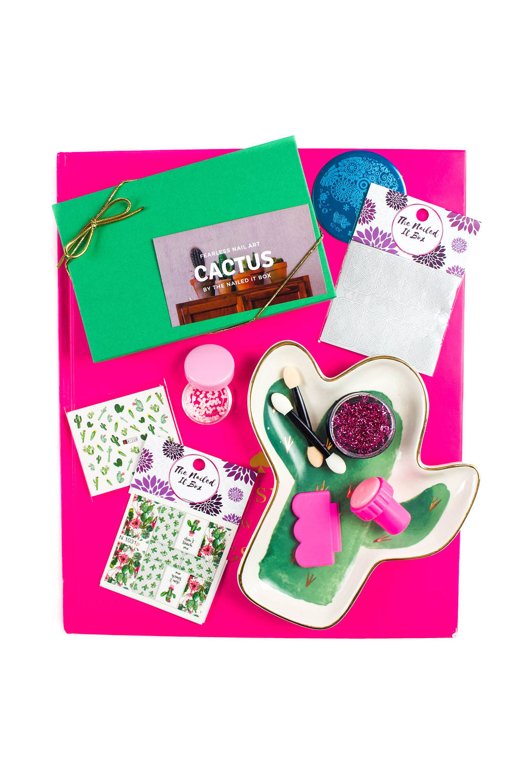 Fearless Nail Art Subscription - The Cactus Box