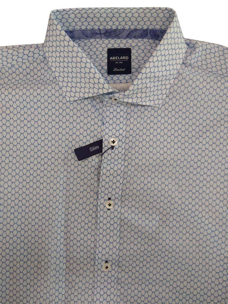 Abelard Grasso Print Long Sleeve Shirt