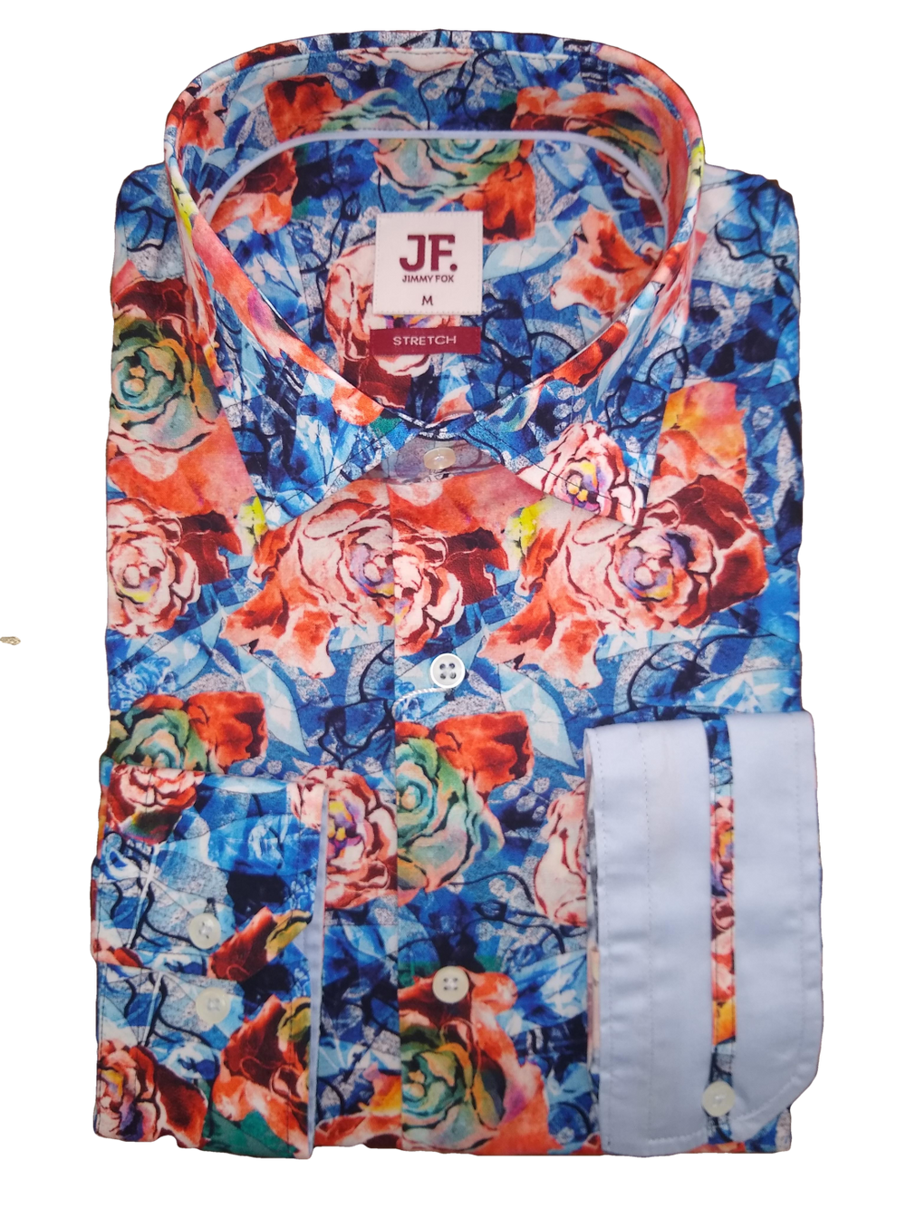 Jimmy Fox Abstract Roses LS Shirt
