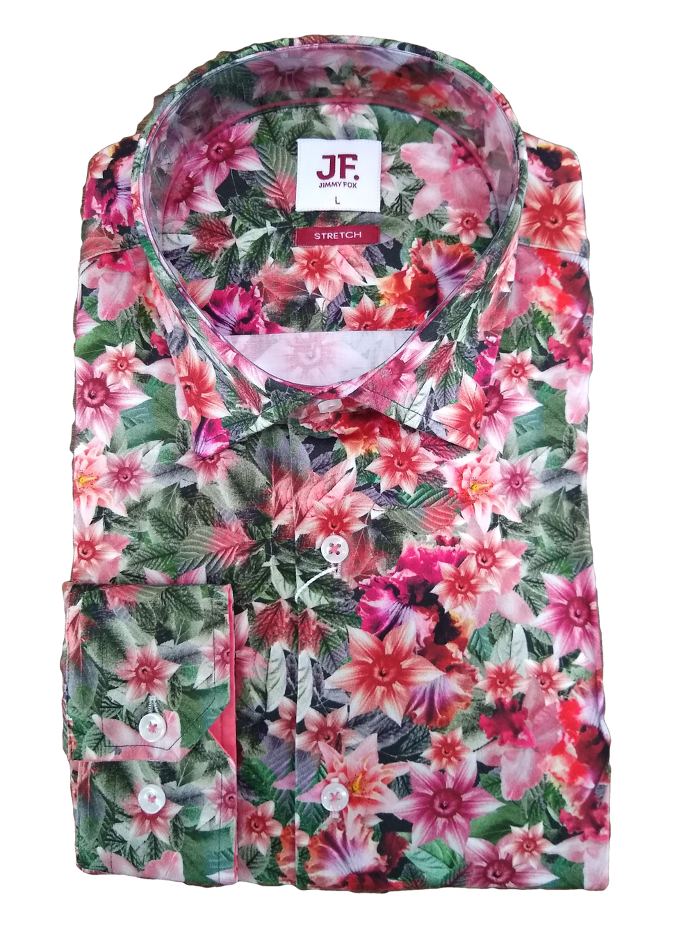 Jimmy Fox Floral Long Sleeve - JF-406