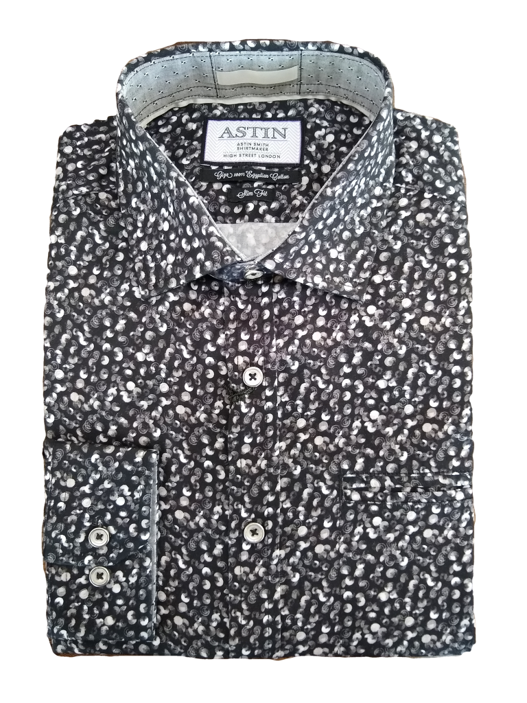 Astin Smith Disc Print LS Shirt