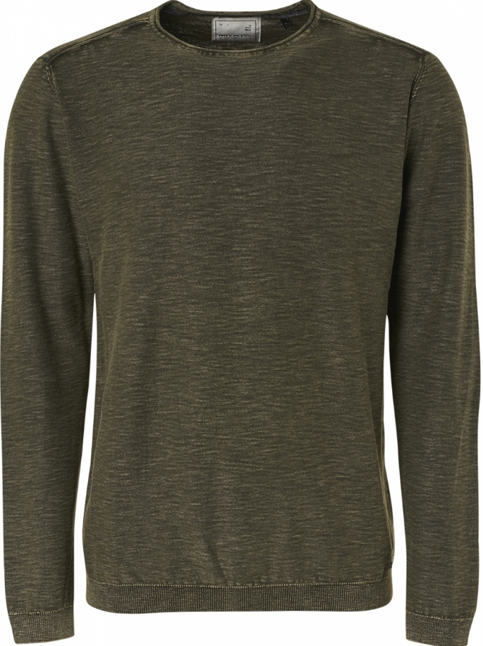 No Excess Crew Neck  Sweater