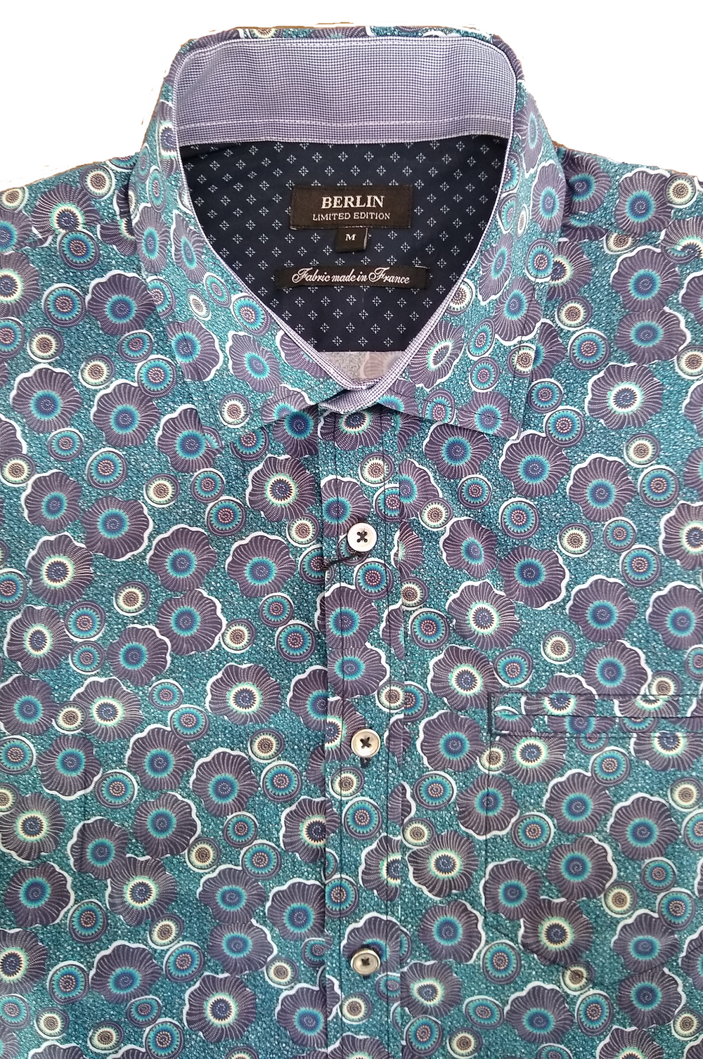 Berlin Retro Print LS shirt