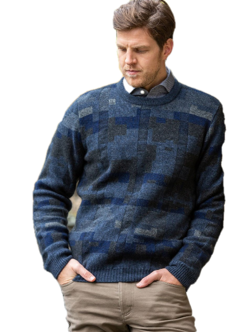 Noble Wilde Mosaic Crew Jumper