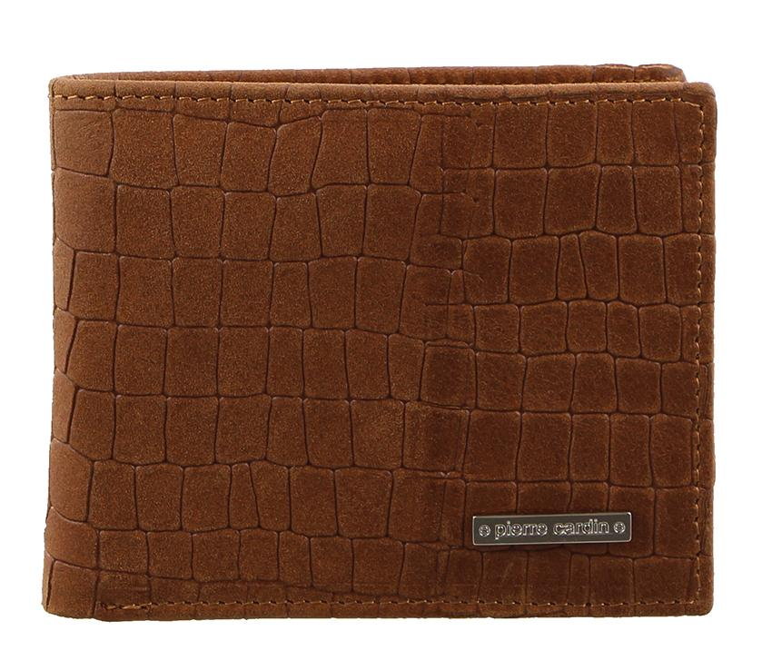 Pierre Cardin Mens Croc RFID Wallet PC2455