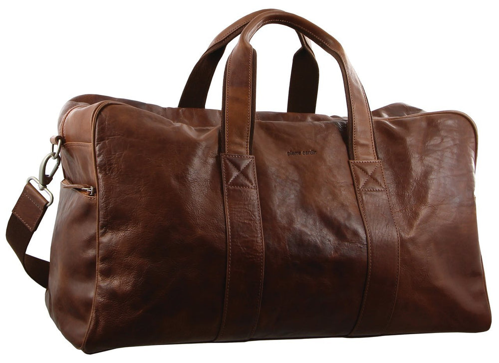 Pierre Cardin Leather Travel Bag