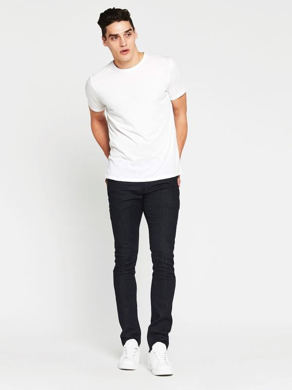 Mavi Jake Rinse White Edge Slim Fit Jean