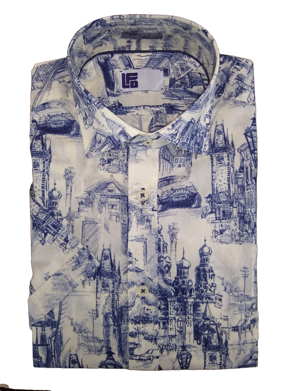 LFD Blue Gibbston SS Shirt