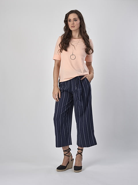 Vassalli Wide Leg Floaty Pant with Pockets