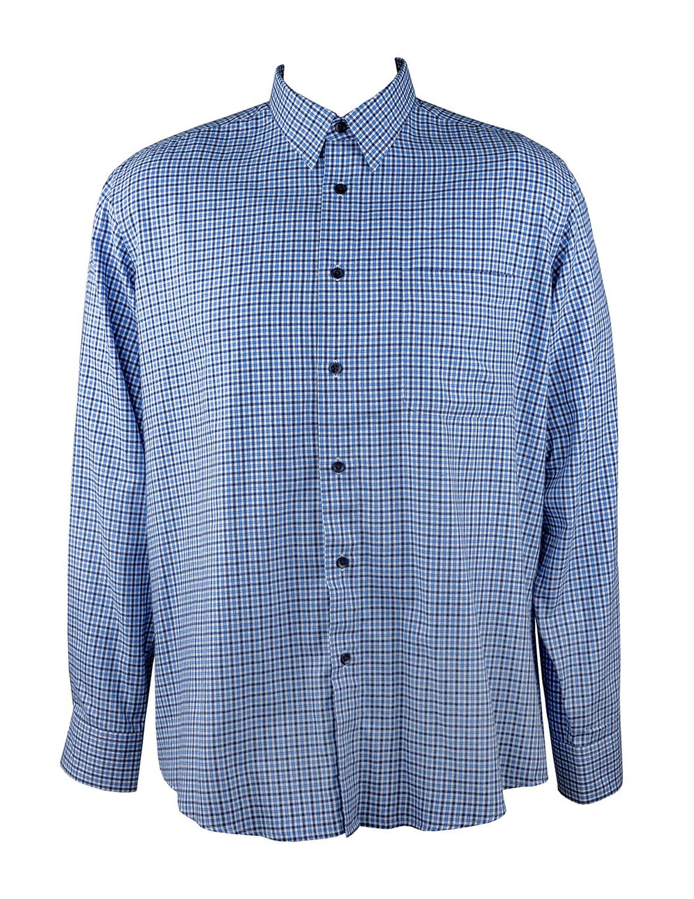 Country Look Blue/Navy Check LS Shirt