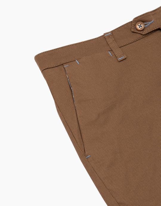 Rembrandt Micro Dot Soho Cotton Trouser