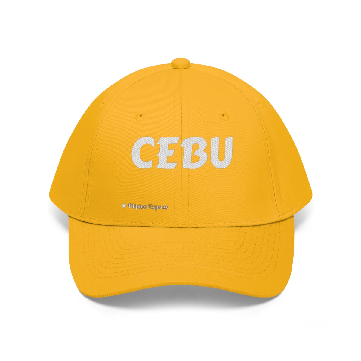 CEBU - 100% Cotton Embroidered Hat Available in Several Colors