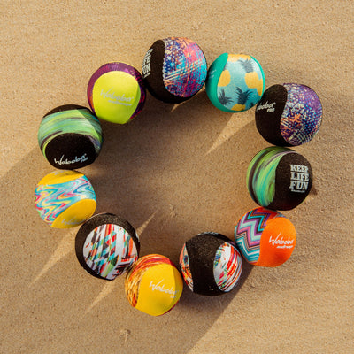 Enjoy Water bouncing balls with Waboba's Gel Ball Collector's Pack